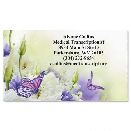 Butterfly Business Cards - Set of 250 2