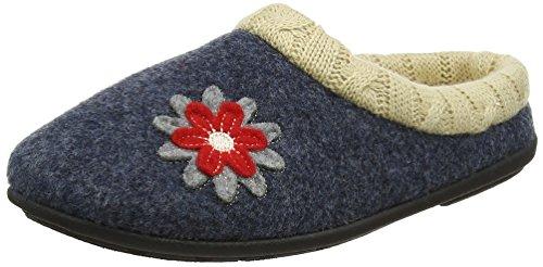 Zapatillas 96 Por Combi De Estar Azul navy Casa Freesia Padders Para Mujer HPIq55
