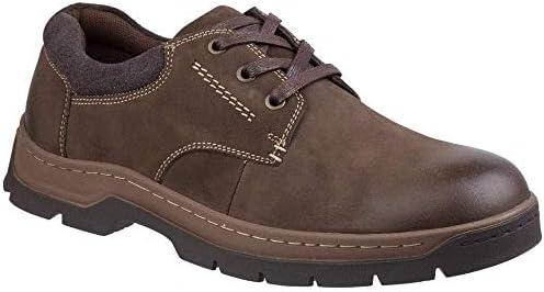 (コッツウォルド) メンズ Thickwood レースアップ ヌバックレザー カジュアルシューズ 紳士靴 男性用