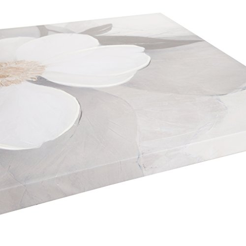 Bloom Canvas with Hand Embellishment White See Below ()