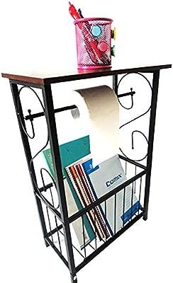 Cogihome Mesa esquinera Lateral de baño con diseño de Rollo de ...