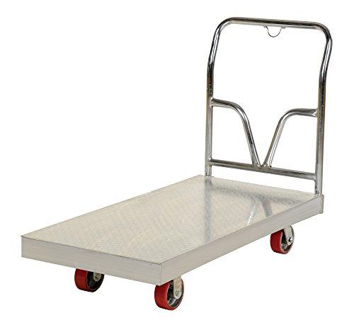 Aluminum Sheet Deck - Vestil ASD-2460 Aluminum Sheet Deck Platform Truck, 3600 lb. Capacity, 24