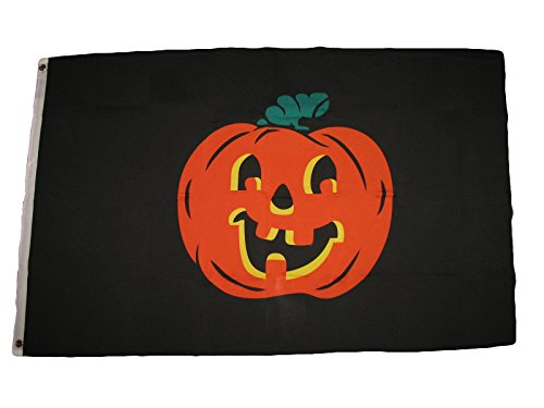 ALBATROS 3 ft x 5 ft Pumpkin Flag