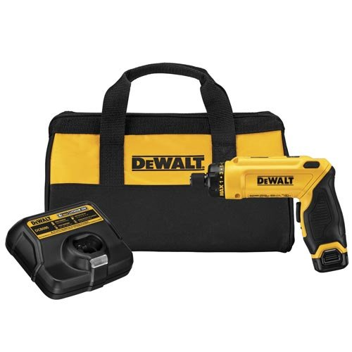 DEWALT 8V MAX Gyroscopic Cordless Screwdriver 1-Battery Kit (DCF680N1)