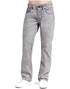 Men's Straight Leg Relaxed Fit w/ Flap Jeans in Shadow