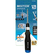 MAXTECH 50345MX 12 in 1 QL3 Standard S/D Set, Black/Blue