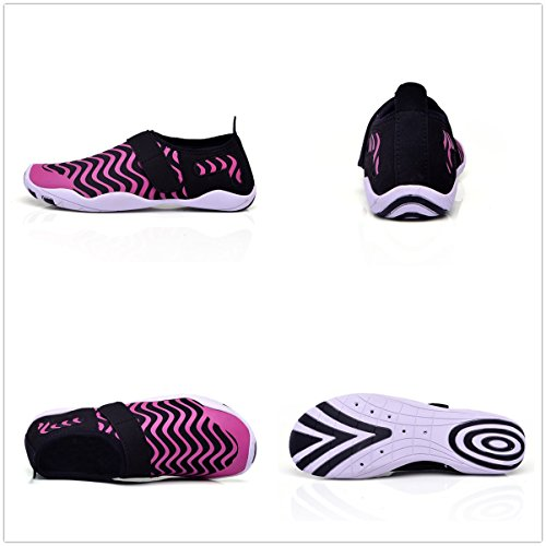 Men Surf gracosy Aerobics Women Swim Sports Quick Yoga Dry Barefoot Shoes Water Dive Shoes For Beach Shoes Pink Beach PAqwxAtH4