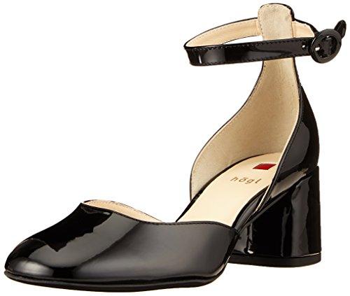 5 Schwarz Högl Noir Escarpins 10 Femme Högl 5 0100 4724 EfqMazA