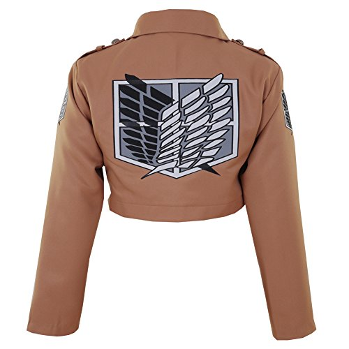 CG Costume Men's Attack on Titan Survey Corps Jacket Cosplay Costume