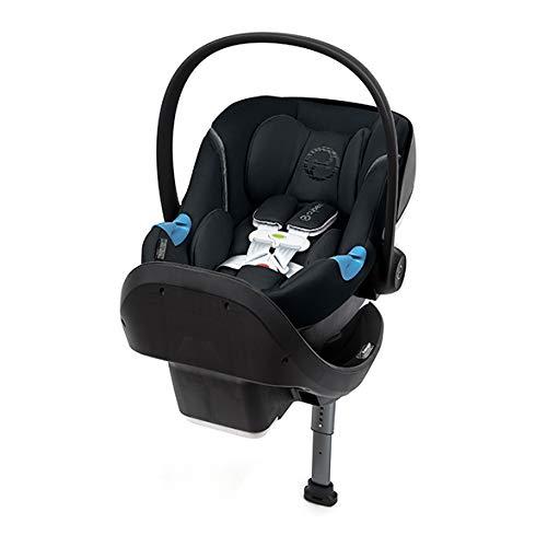 Cybex Aton M Infant Car Seat with SensorSafe, Lavastone Black