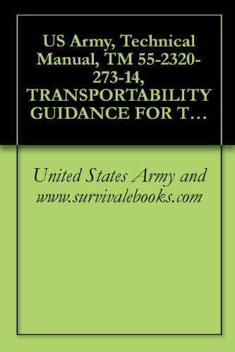 (US Army, Technical Manual, TM 55-2320-273-14, TRANSPORTABILITY GUIDANCE FOR TRUCKS, TRACTOR, LINE-HAUL M915 6X4, 14-TON, (NSN 2320-01-028-4395), AND M915A1, ... (THIS ITEM IS INCLUDED ON EM0048),)