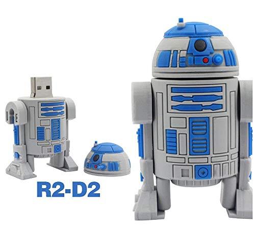 In Your Hand Apacer Cartoon Pen Drive Star Wars Darth Vader 4GB 8GB 16GB 32GB USB Flash Drive 64GB usb2.0 (32GB R2D2) ()