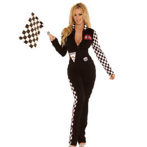 Black Race Car Costume