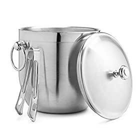 Bellemain 3 Liter Insulated Stainless Steel Ice Bu...