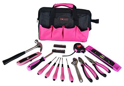 Neocraft NET10042 34Pc Lady's Tool Kit, Pink -