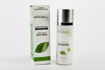 NovaCell Anti-Aging Reviving Facial Serum - 1oz / 30ml Redness FX Calming Cream For Dry Skin 1oz
