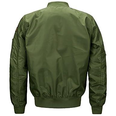 Bomber Jacket Men Mens Tactical Jackets And Coats Military Army Jacket For Men Baseball Varsity Jacket chaqueta hombre.DA23 at Amazon Mens Clothing store: