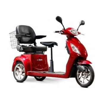 Amazon.com: eWheels ew-66 2-passenger Heavy-Duty Scooter ...