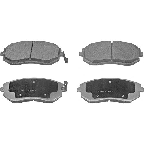 Subaru Front Pad Brake Impreza (Wagner ThermoQuiet PD929A Ceramic Disc Pad Set With Installation Hardware, Front)
