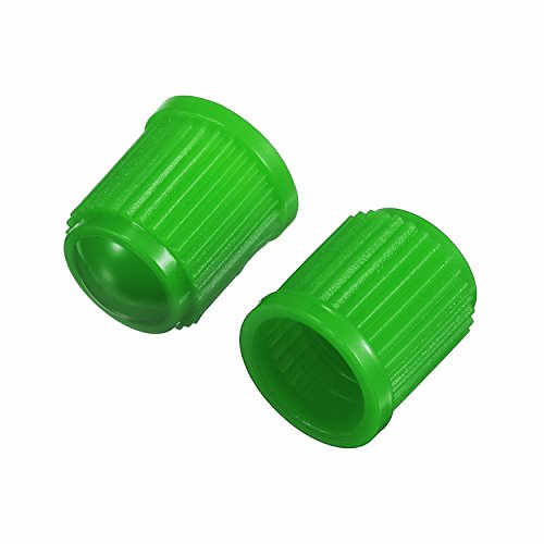 Outus 20 Pack Tyre Valve Dust Caps for Car, Motorbike, Trucks, Bike, Bicycle (Green) by Outus (Image #5)