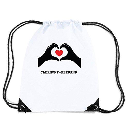 JOllify CLERMONT-FERRAND Turnbeutel Tasche GYM3305 Design: Hände Herz ClHuY7Y