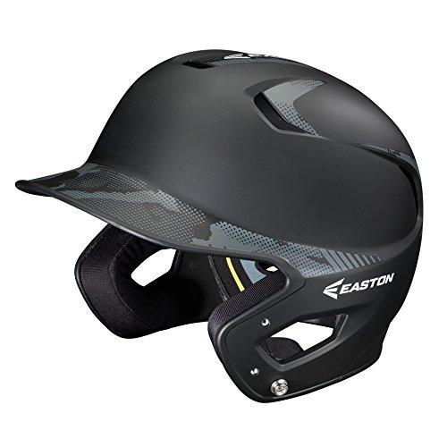 Easton Junior Z5 2 Tone Basecamp Batting Helmet, Black