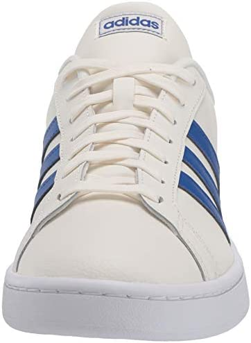 41Zolx2bQ L. AC adidas Men's Grand Court Sneaker    A '70s style reborn. These men's shoes take inspiration from iconic sport styles of the past and move them into the future. They're crafted with a suede upper and leather-like details. Signature 3-Stripes flash along the sides. Plush midsole cushioning gives comfort to every step.