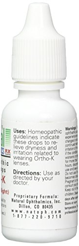 Natural Ophthalmics - Ortho-K Night Time Gel 15 ml