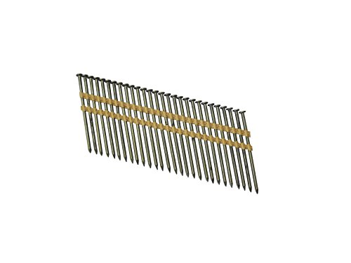 Grip Rite Prime Guard GR071M 21 Degree Plastic Strip Round Head Bright Coated Collated Framing Nails, 2-3/8