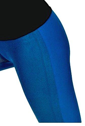 Mujer Para Petrol Leggings Infinitoitaly Blau wS0gPq6qx