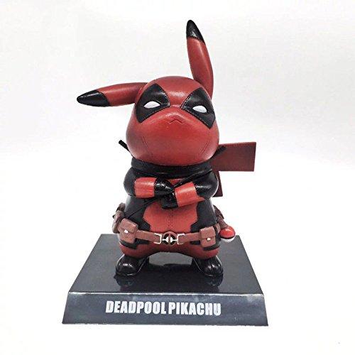 (Deadpool Pikachu) Deadpool Model PVC Action Figure Figures Gifts Doll Comic Superhero Collection