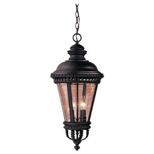 Feiss Castle Outdoor Hanging Lantern - 27.25H in.