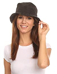 LL Unisex Packable Rain Hat Lightweight Year Round Use - 2 Sizes Best Fit