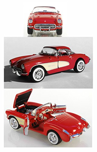 1/43 Scale 1957 Chevy Corvette convertible by the Franklin Mint