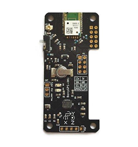 BerryGPS-IMUv2 - GPS and 10DOF for The Raspberry Pi - Accele