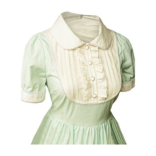 Kleid Lolita Hellgruen Partiss Womens Cotton Hellgruen 1p6Ixvqnfw