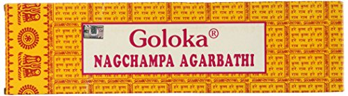 Goloka - Nag Champa - Agarbathi (Stick Incense 100 Grams) - incensecentral.us