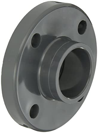 GF Piping Systems PVC Pipe Fitting, Flange, Schedule 80