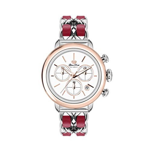 GLAM ROCK BAL HARBOUR GR77134 Swiss Quartz Movement Stainless Steel Ladies Chronograph Watch