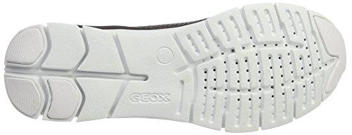 Geox A Ginnastica Donna D Blackc9999 Nero Sukie Scarpe da EpwxEqrz