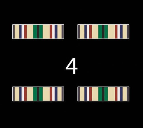 US Army AFR Southwest Asia Service Medal Ribbon 3