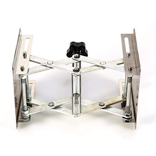 Ochoos 4'' x 4'' 100mm Stainless Steel Lab Stand Lifting Platform Laboratory Tool Laboratory Lifting Platform by Ochoos (Image #5)