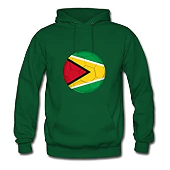 Women Ball_of_guyana Printed Hoodies Green Style Personality Shirts With X-large