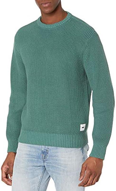 Obey Męskie Bold Label Organic Sweater Pullover: Odzież