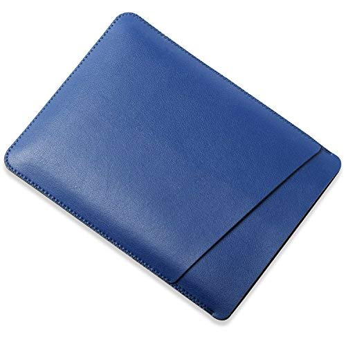 Ayotu Leather Slim Sleeve Case for All Kindle Paperwhite,Soft Microfiber Felt Synthetic Leather Bag for All Kindle Paperwhite,Kindle Voyage,New Kindle 8th Generation (2016 Version)-Royal Blue ()