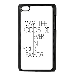 The Hunger Games Quote Apple iPod Touch 4th Generation/4th Gen/4G/4 Case Black and White iPod Touch 4th Generation/4th Gen/4G/4 Case