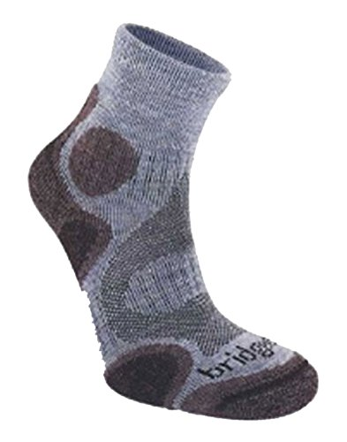 Bridgedale Women's Coolfusion Trail Diva Socks - AW16 - Small - Blue ()