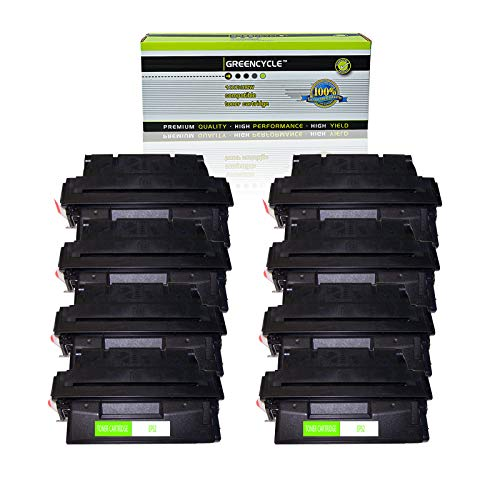 GREENCYCLE High Yield Compatible EP52 EP-52 C4127X 27X Toner Cartridge Replacement for Canon LBP-1760 LBP-1760e LBP-52x HP Laserjet 4000 4050 Printers,Page Yield Up to 10,000 Pages (Black, 8 Pack) -  GREENCYCLE TECH INC, M-EP52-8PK-0319