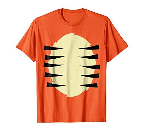 Tiger Costume T Shirt Halloween Stripes Kids Gift -