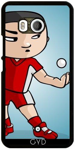 Funda para Htc U11 - El Jugador De Tenis De Mesa by GiordanoAita
